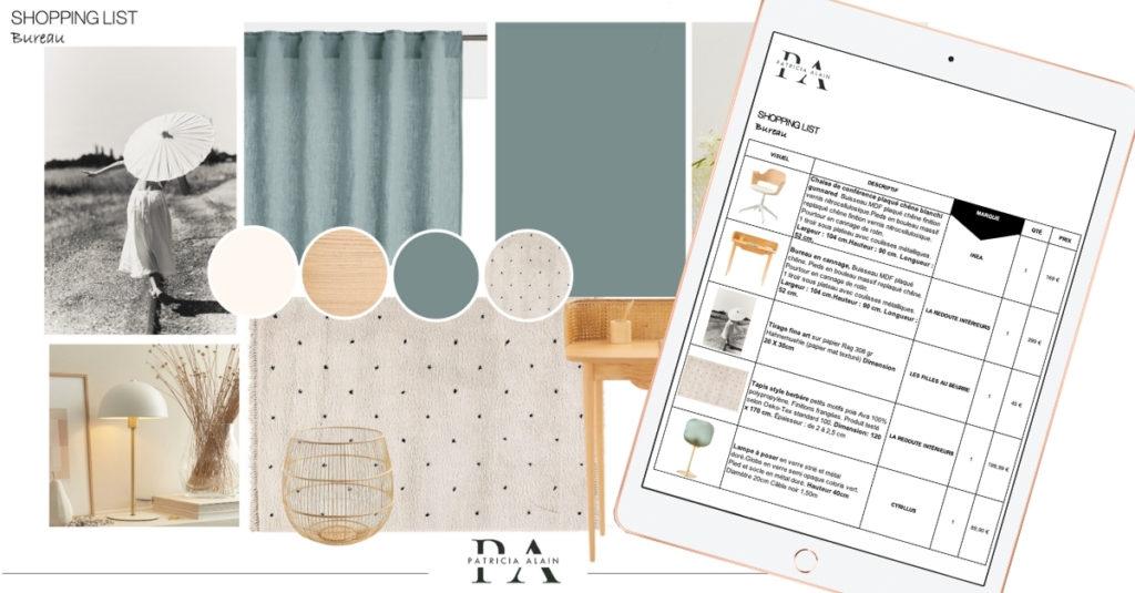 Shopping List Patricia Alain