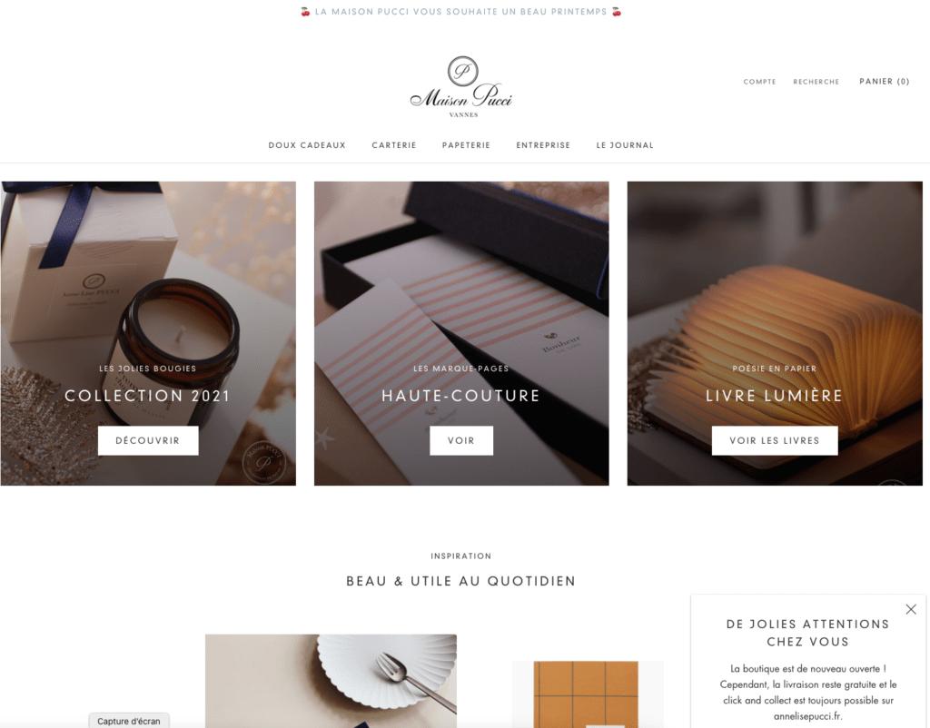 site web anne-Lise pucci